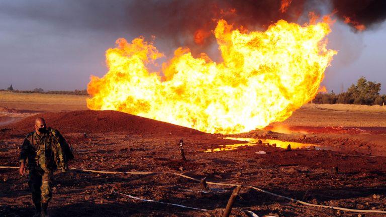 Сирийското правителство заяви, че експлозията на важен газопровод, пресичащ Близкия