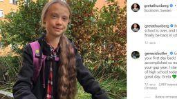 Грета Тунберг щастлива, че се връща в училище