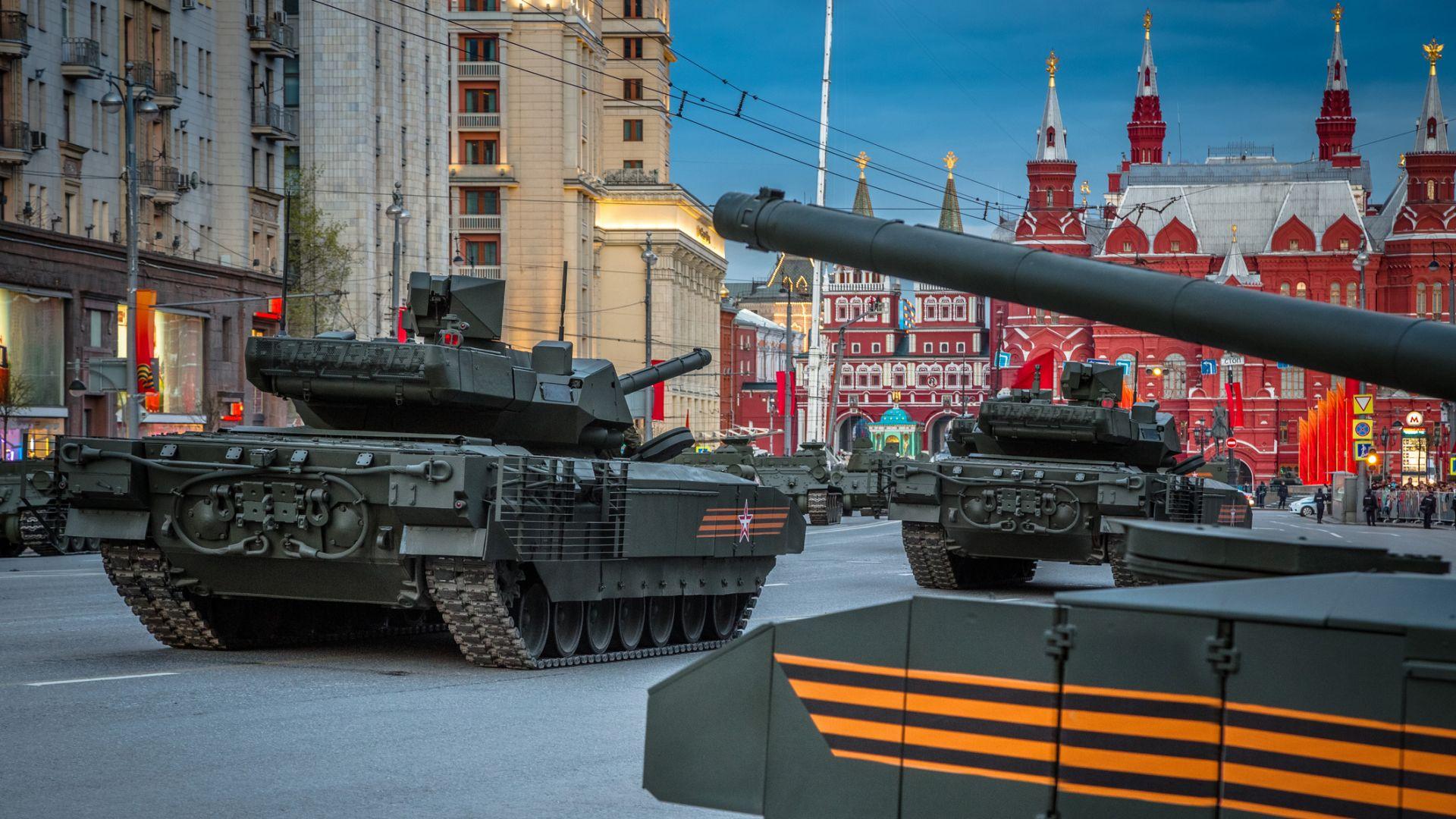 """Тестваха танка T-14 """"Армата"""" в безпилотен режим"""