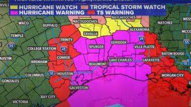 Ураганът Лора се насочва към Хюстън, Тексас и Луизиана