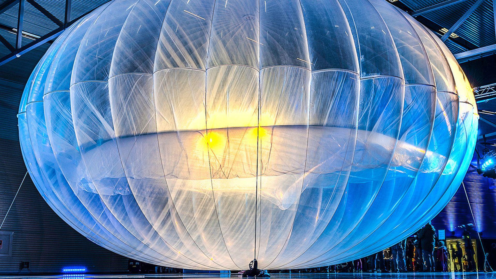 НЛО в джунглата в Конго се оказа балон за интернет