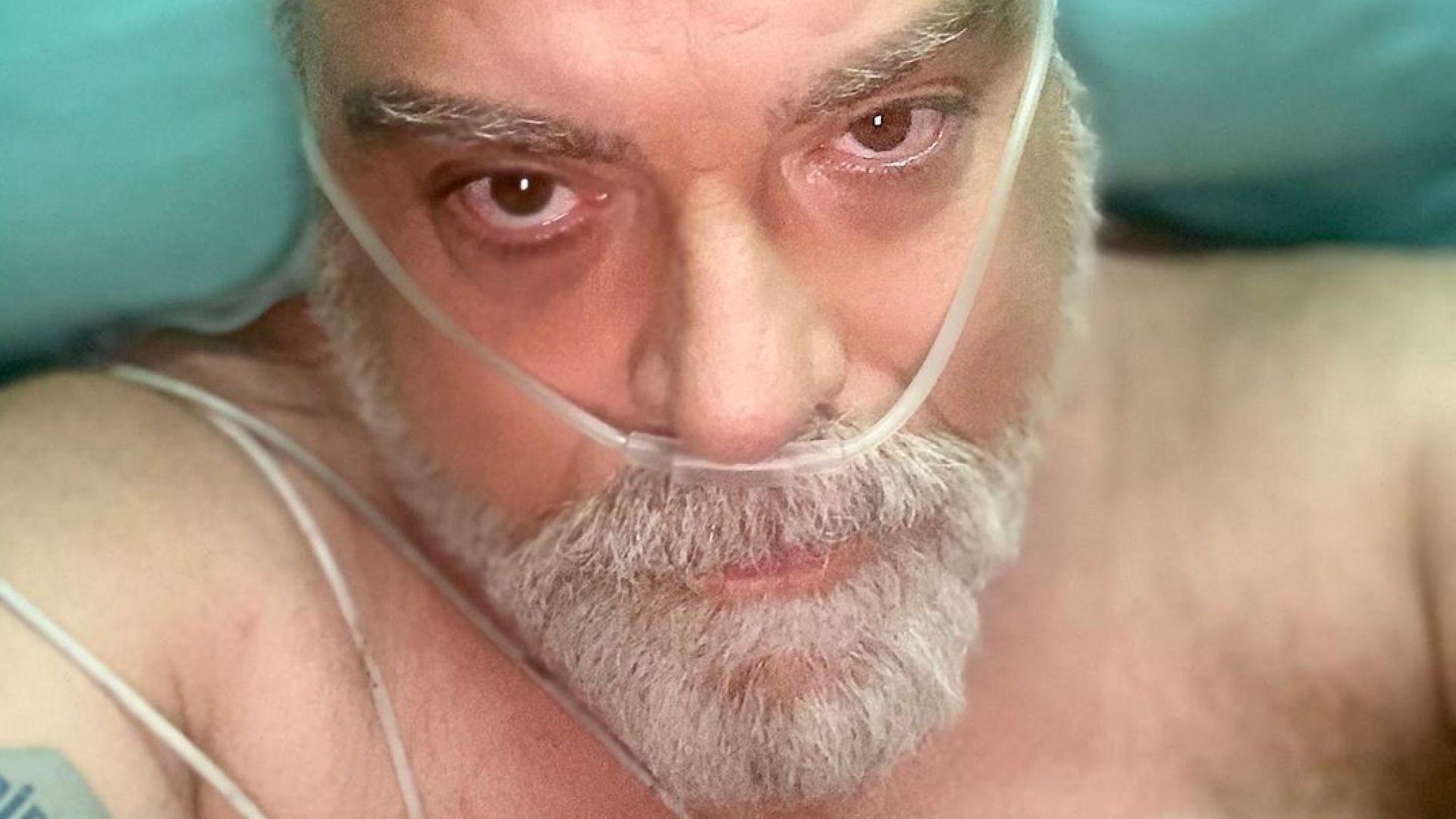 Владо Пенев в премеждие - диагностициран е с Covid-19