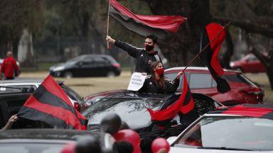 Лудост! Парад в родния град на Меси, хиляди чакат завръщане на любимия син (Галерия)