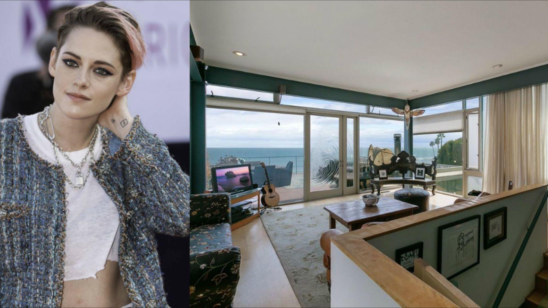 Вижте плажната къща на Кристен Стюарт в Малибу (снимки)