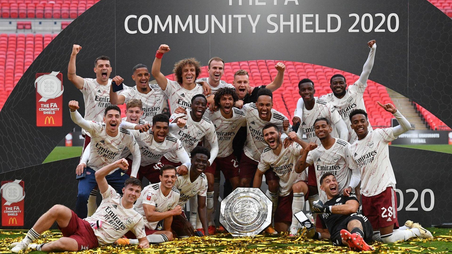 """Нов трофей за Арсенал на """"Уембли"""", дузпи огорчиха шампиона Ливърпул"""