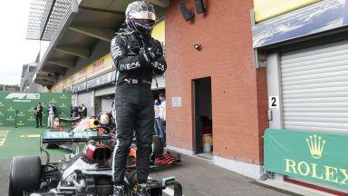 Безпогрешен Хамилтън грабна победата и в Гран При на Белгия