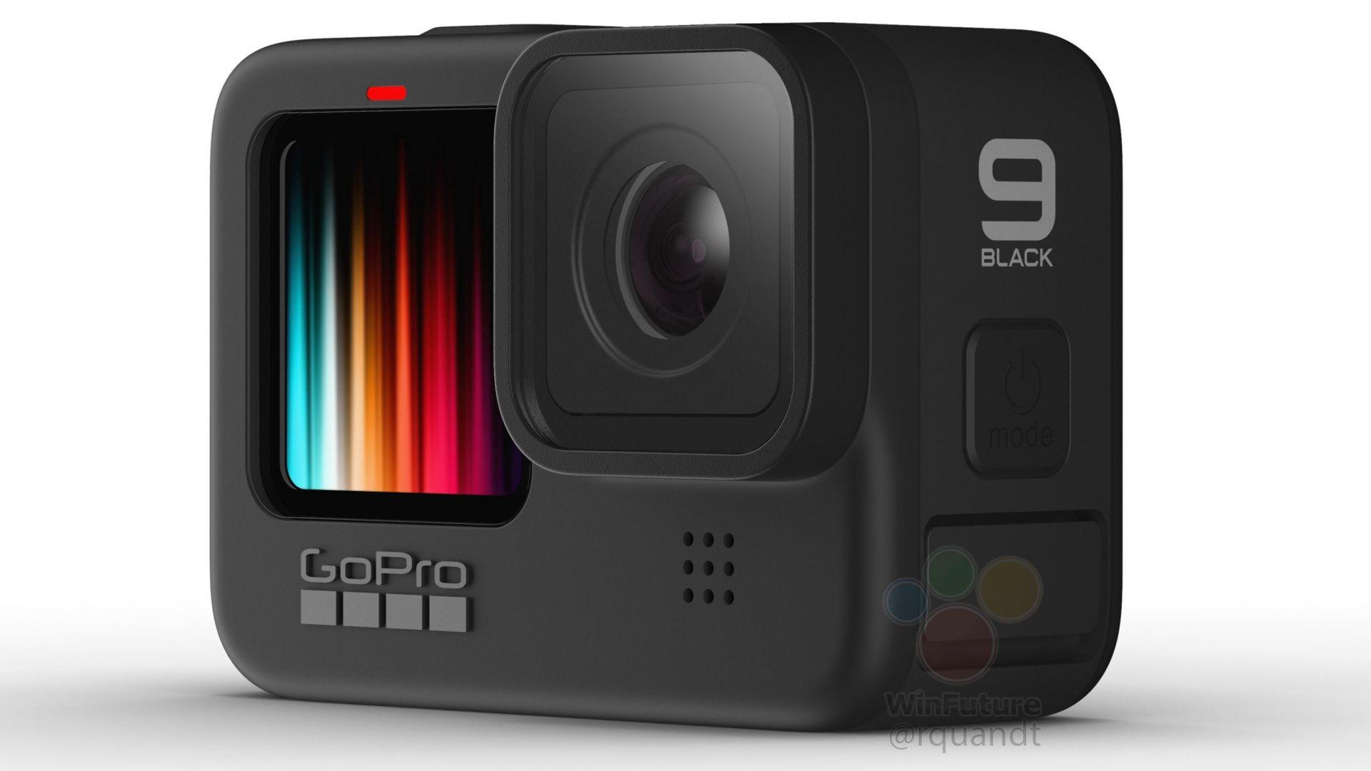 GoPro Hero 9 Black ще има цветен преден дисплей
