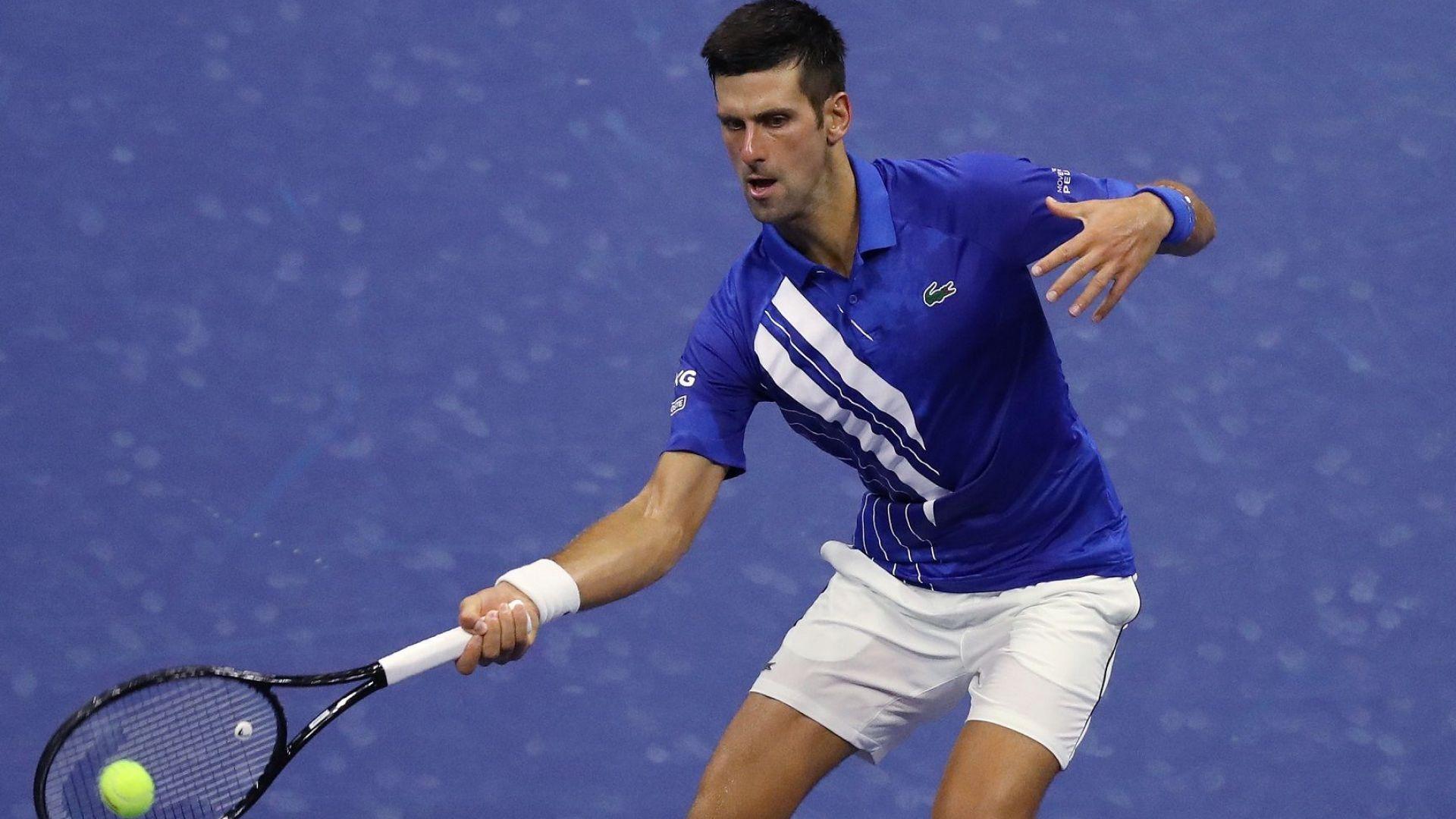 Безпощаден! Джокович тръгна ударно на US Open