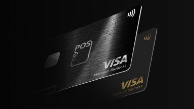 Металната карта myPOS Visa Platinum - без аналог в Европа