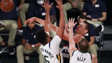 Денвър с голям обрат в НБА, Бостън продължи да тероризира шампионите