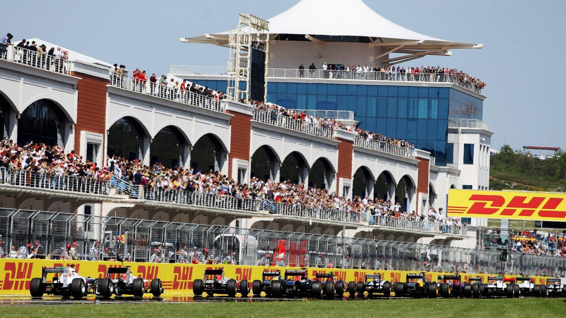 Гран при на Турция във Формула 1 очаква 100 хиляди души
