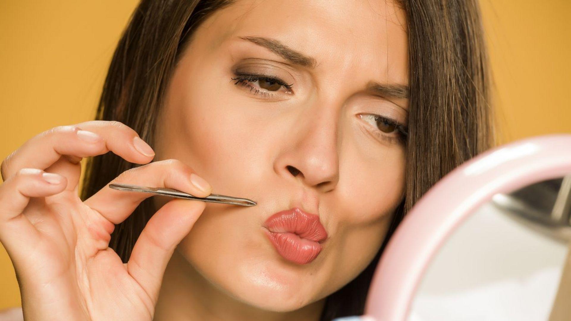 5 лесни и ефикасни начина да се отървем от лицевото окосмяване в домашни условия