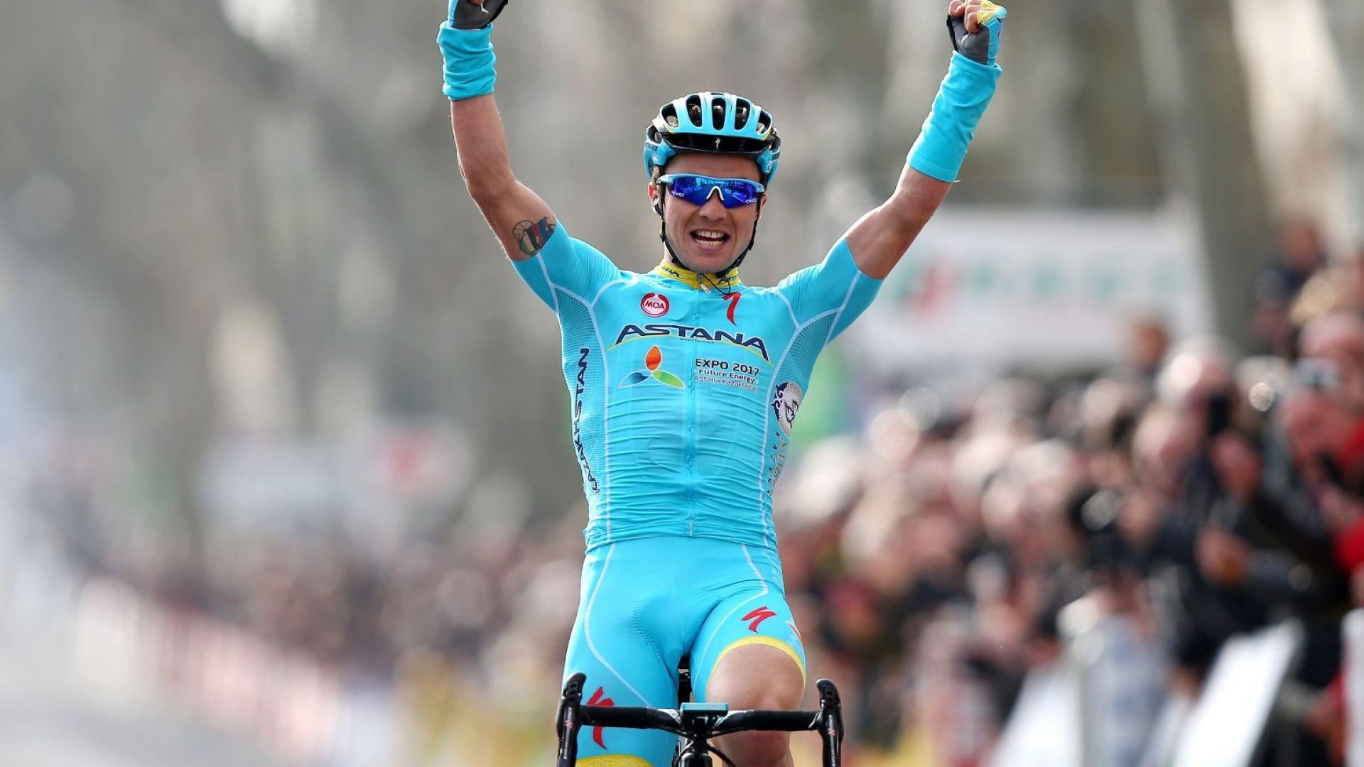 Казахстанец заслужи първата си етапна победа в Обиколката на Франция