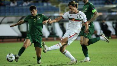 България изпусна нелепо победата срещу Република Ирландия
