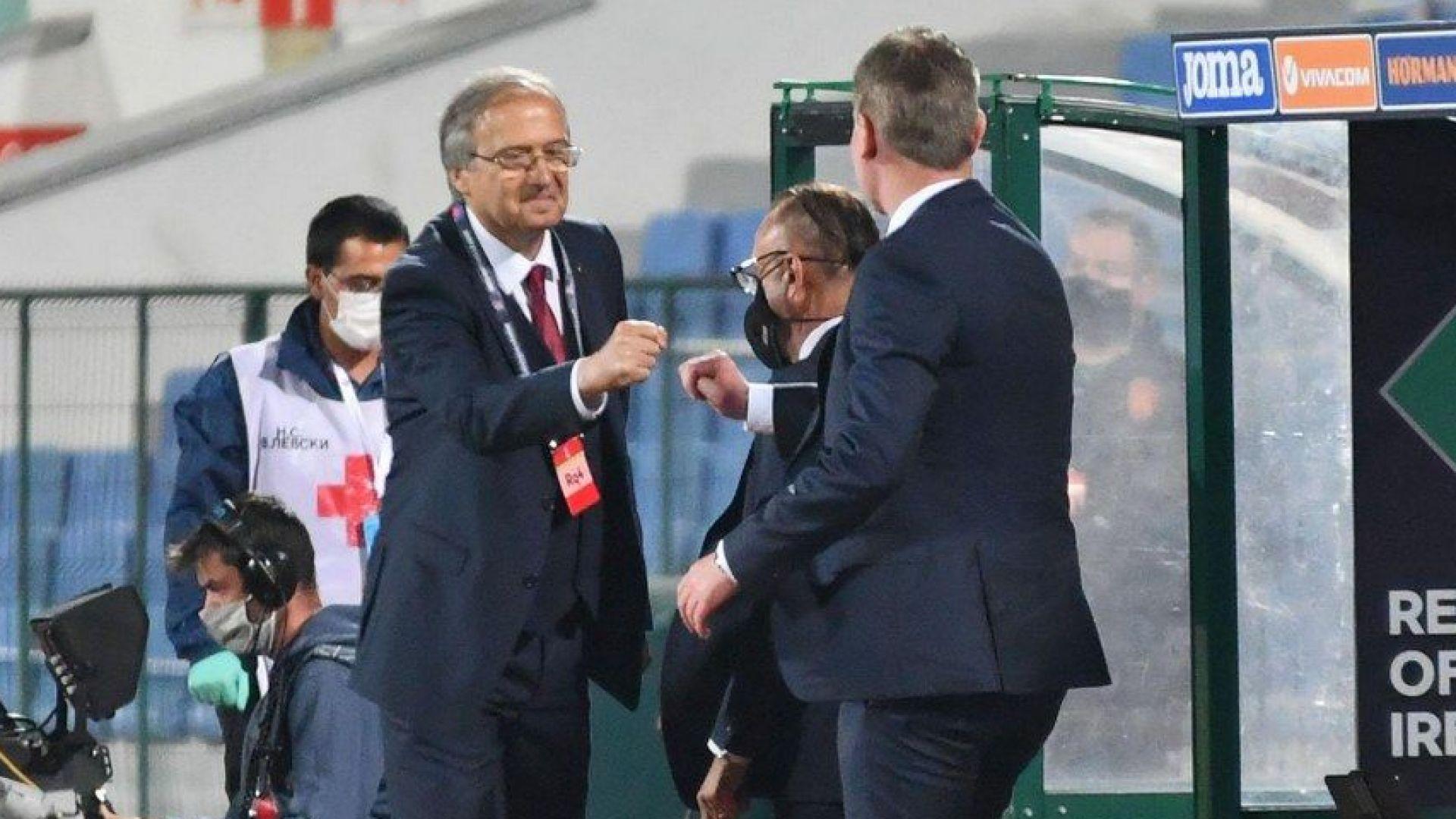 Дерменджиев извика още един играч в националния отбор