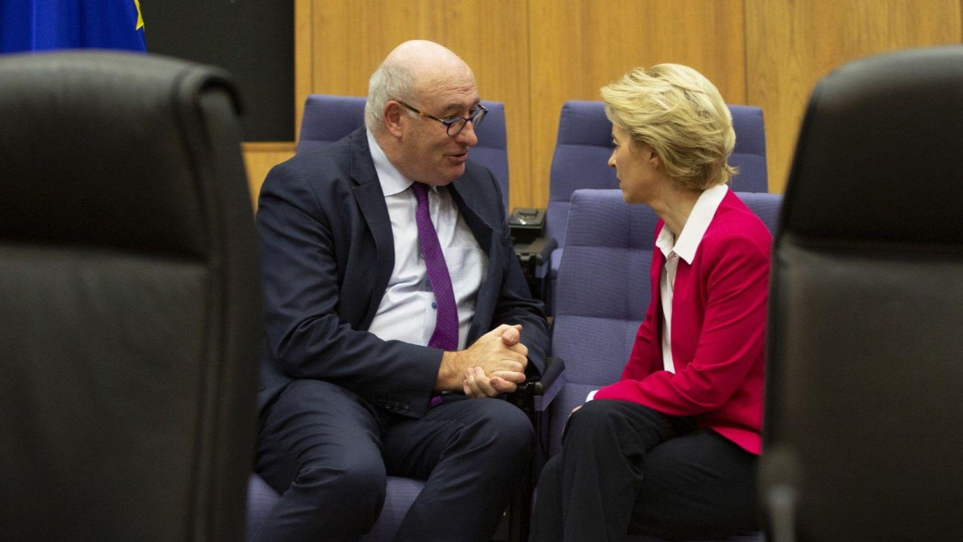 Оставката на Фил Хоган може да пренареди Европейската комисия
