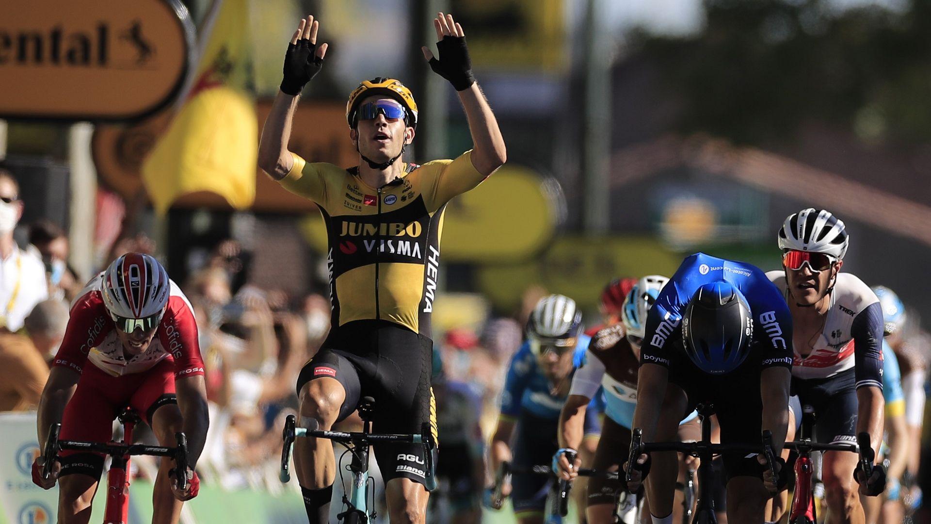 "Белгиец изригна с втора етапна победа в ""Тур дьо Франс"""