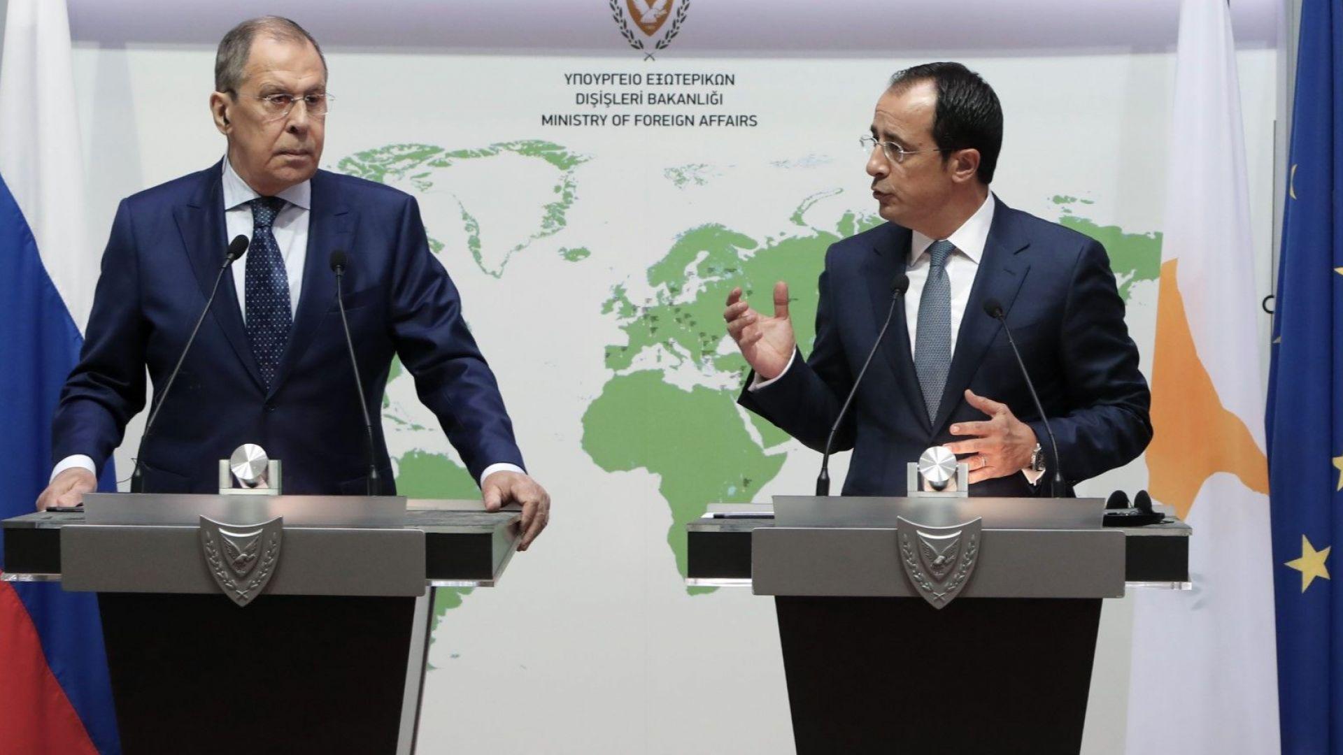 Русия и Кипър измениха спогодбата за избягване на двойното данъчно облагане
