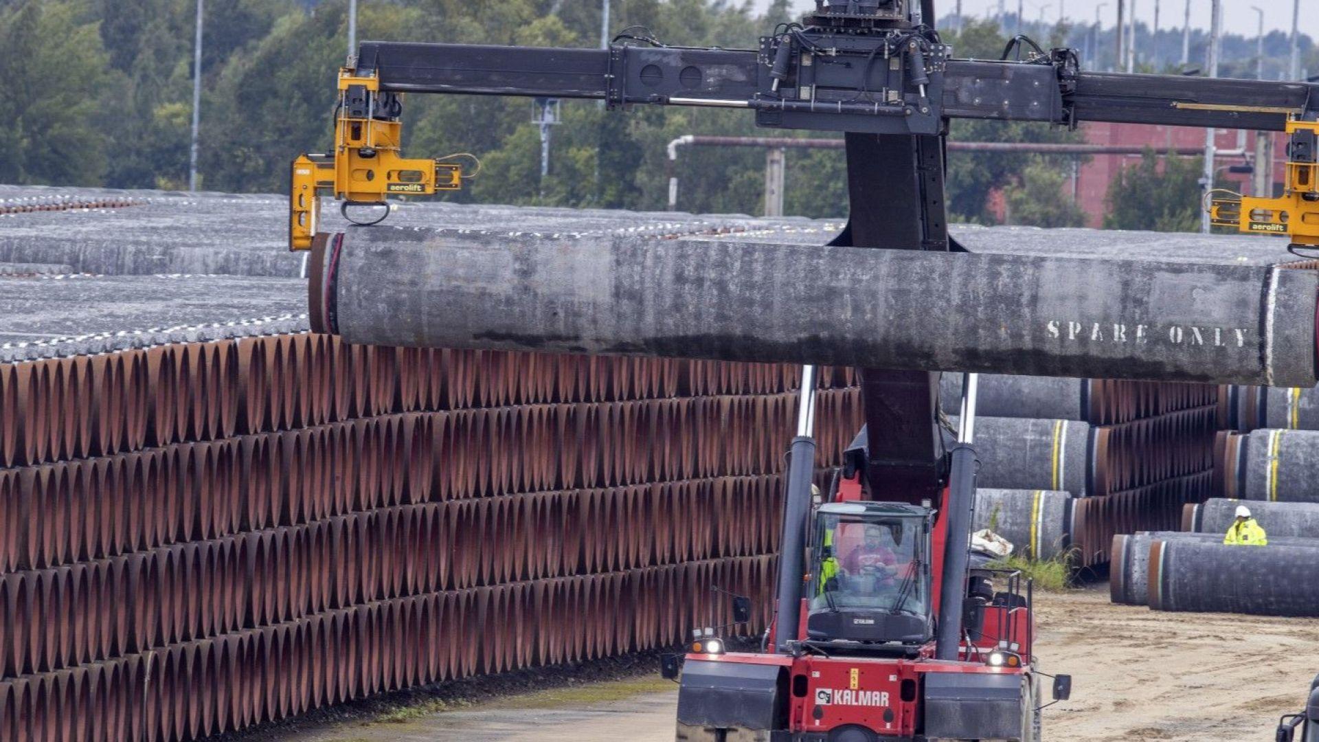 """Германия не се съобрази със САЩ - подновиха изграждането на """"Северен поток 2"""""""