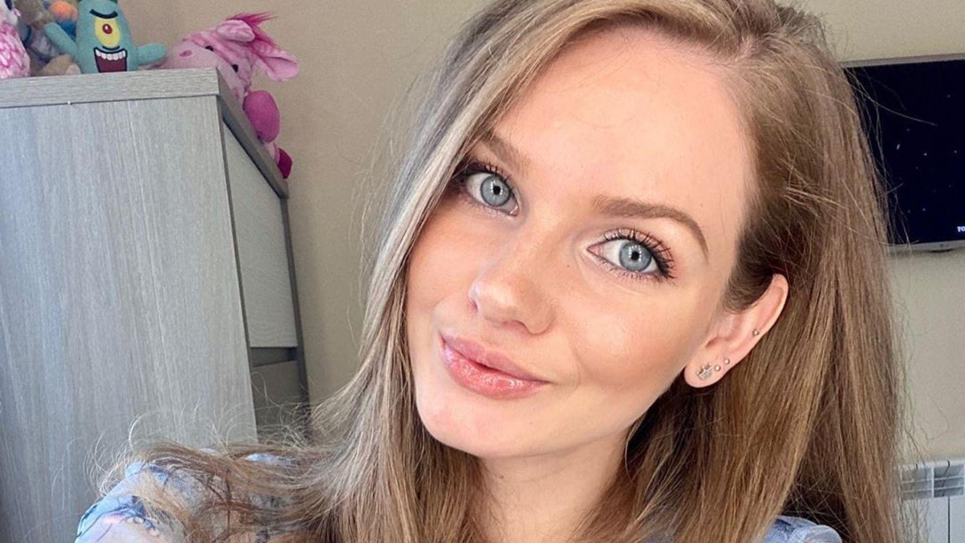 Вижте красивата сестра на Нанси Карабойчева