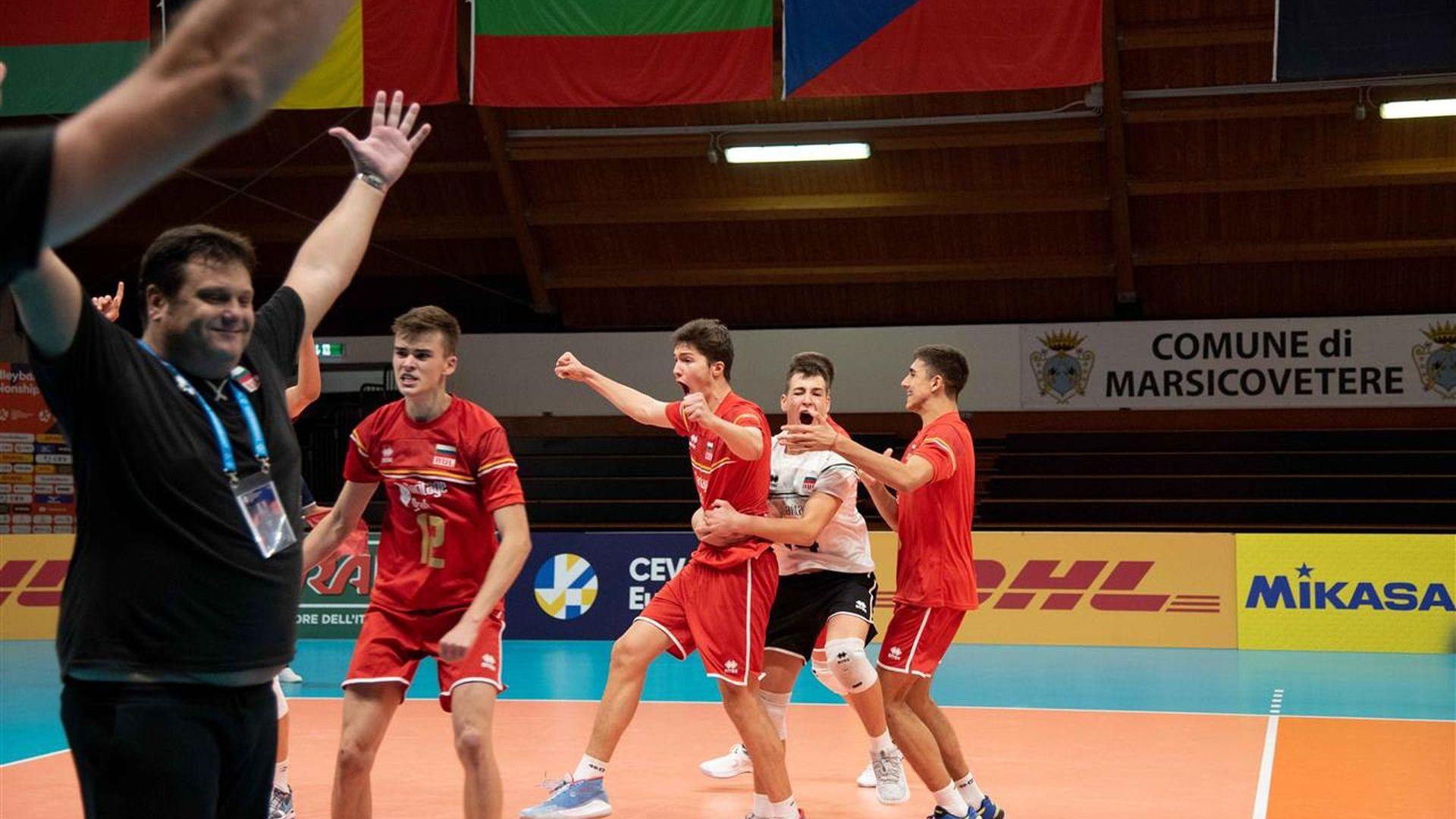 Чехия спря България по пътя към европейски финал при младежите