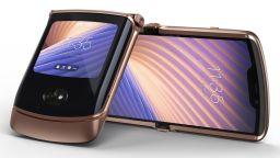 Motorola представи новия си сгъваем смартфон
