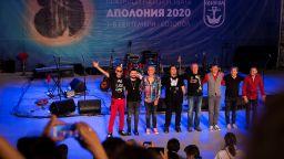 """Супергрупата """"Фондацията"""" закри 36-ото издание на Аполония с грандиозен рок концерт"""
