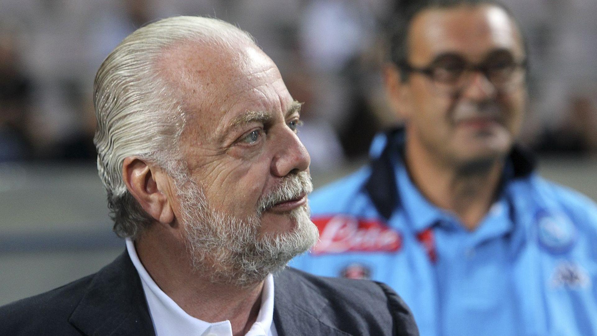 71-годишният президент на Наполи е заразен с Covid-19