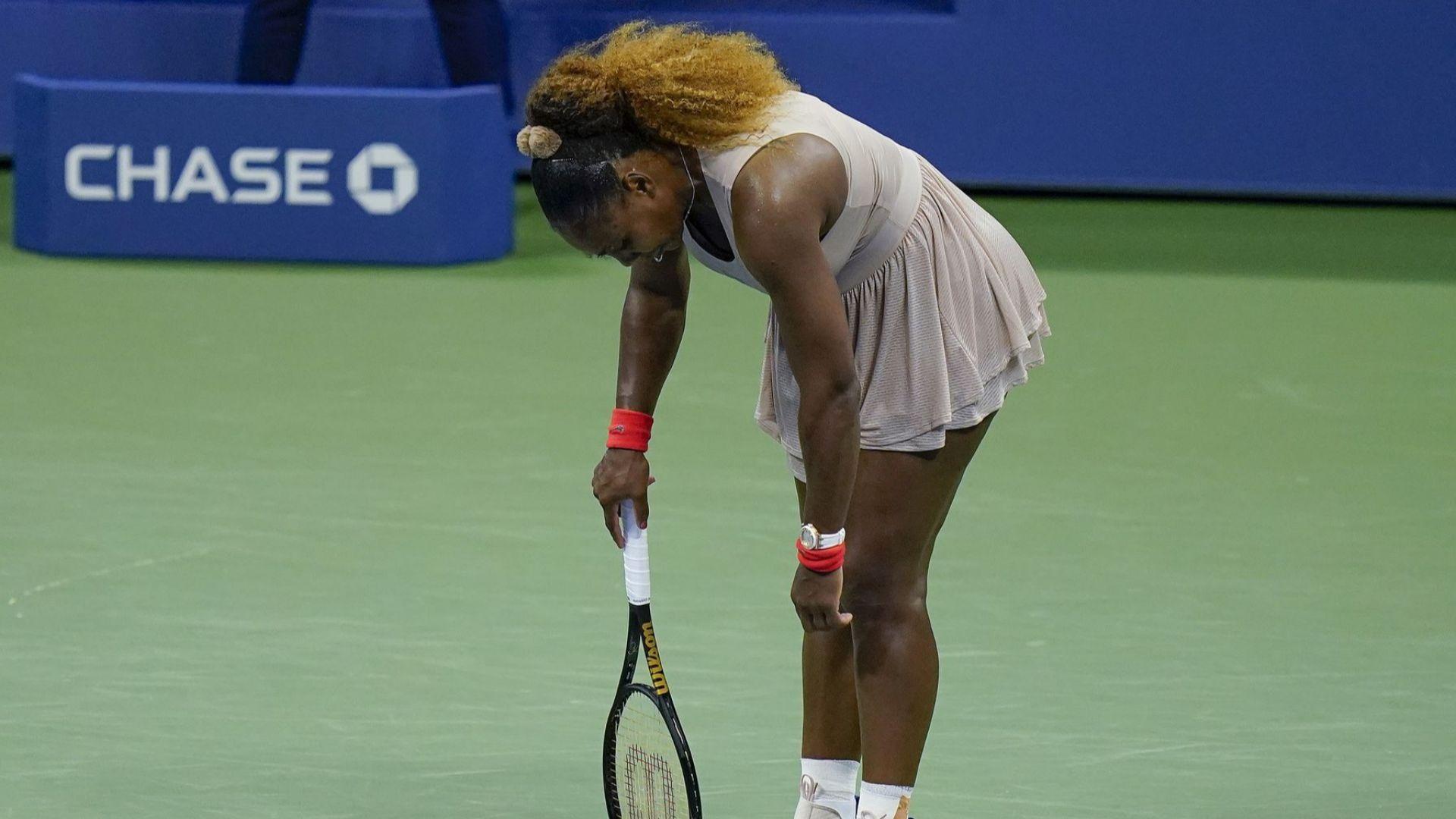 Изненада: Серина е играла с травма на US Open и отпада за Мастърса в Рим