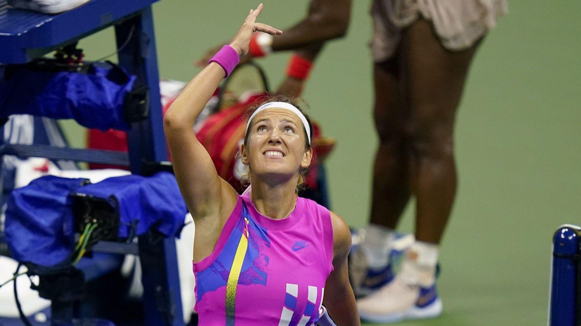 """Не и не! Азаренка сложи знак """"Стоп"""" пред рекордната титла на Серина"""