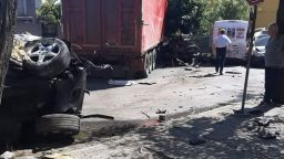 Шофьорът на камион, окървавил Айтос, е с положителна проба за метамфетамин