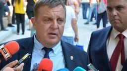 Каракачанов: Няма как да стане това, което иска президентът