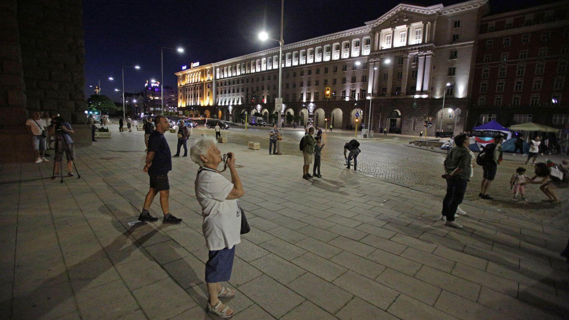 Ден 82: Протестът не вярва и на Цветанов