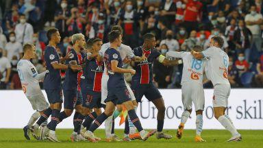 От френската футболна федерация не наказаха Неймар и  Гонсалес