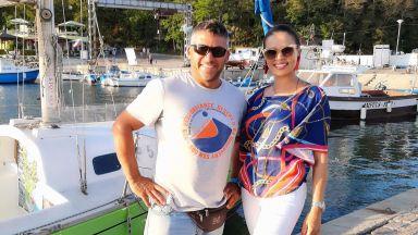 Певицата Цвети Радойчева изпрати лятото на яхтата на Здравко от Big Brother