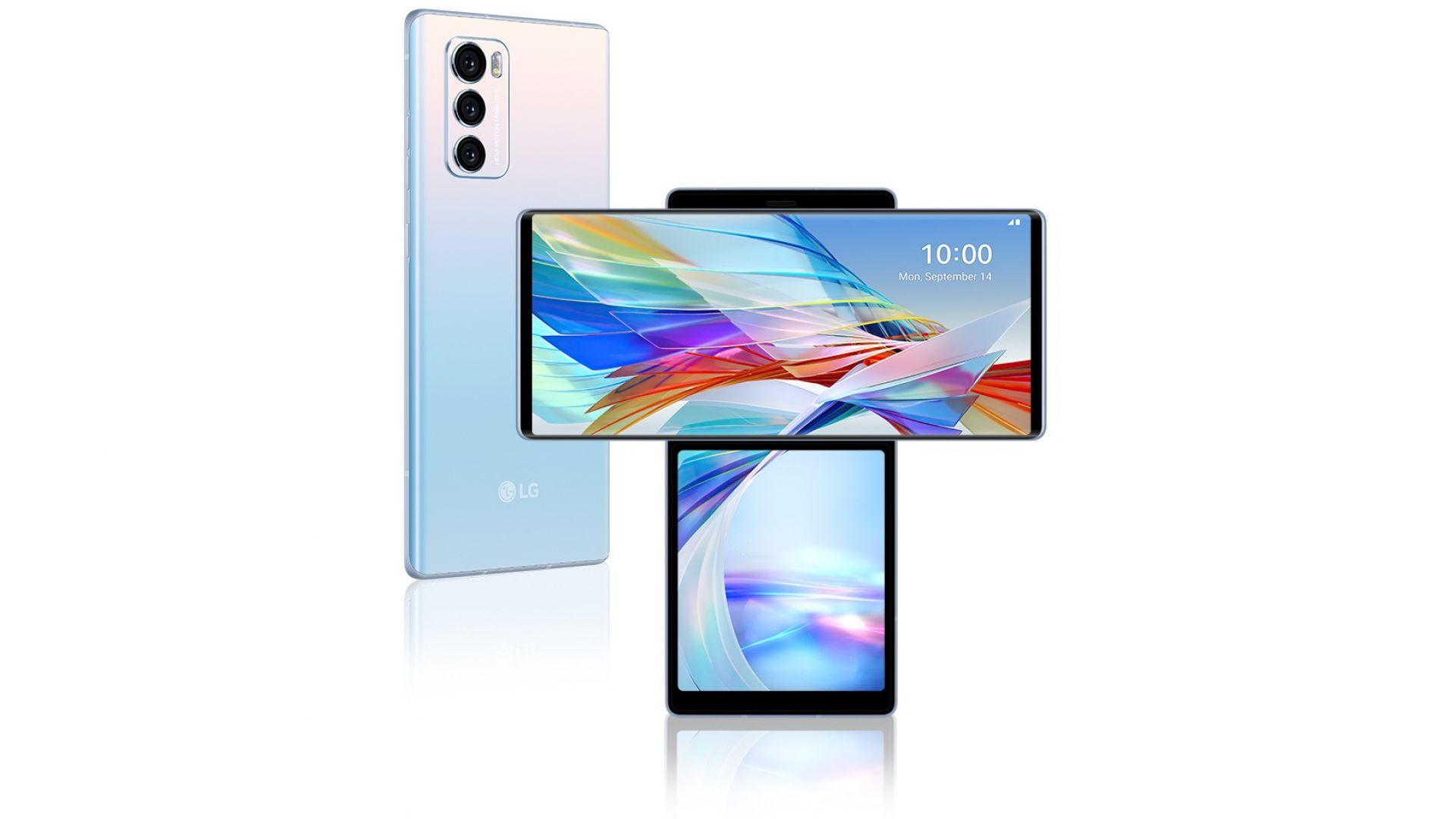 LG представи странен смартфон с два екрана
