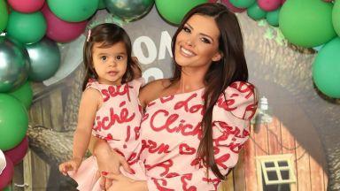 Преслава отпразнува рождения ден на дъщеря си със свои колеги и пищно тържество