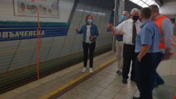 """Фандъкова: Готови са автоматичните предпазни врати на метростанция """"Опълченска"""""""
