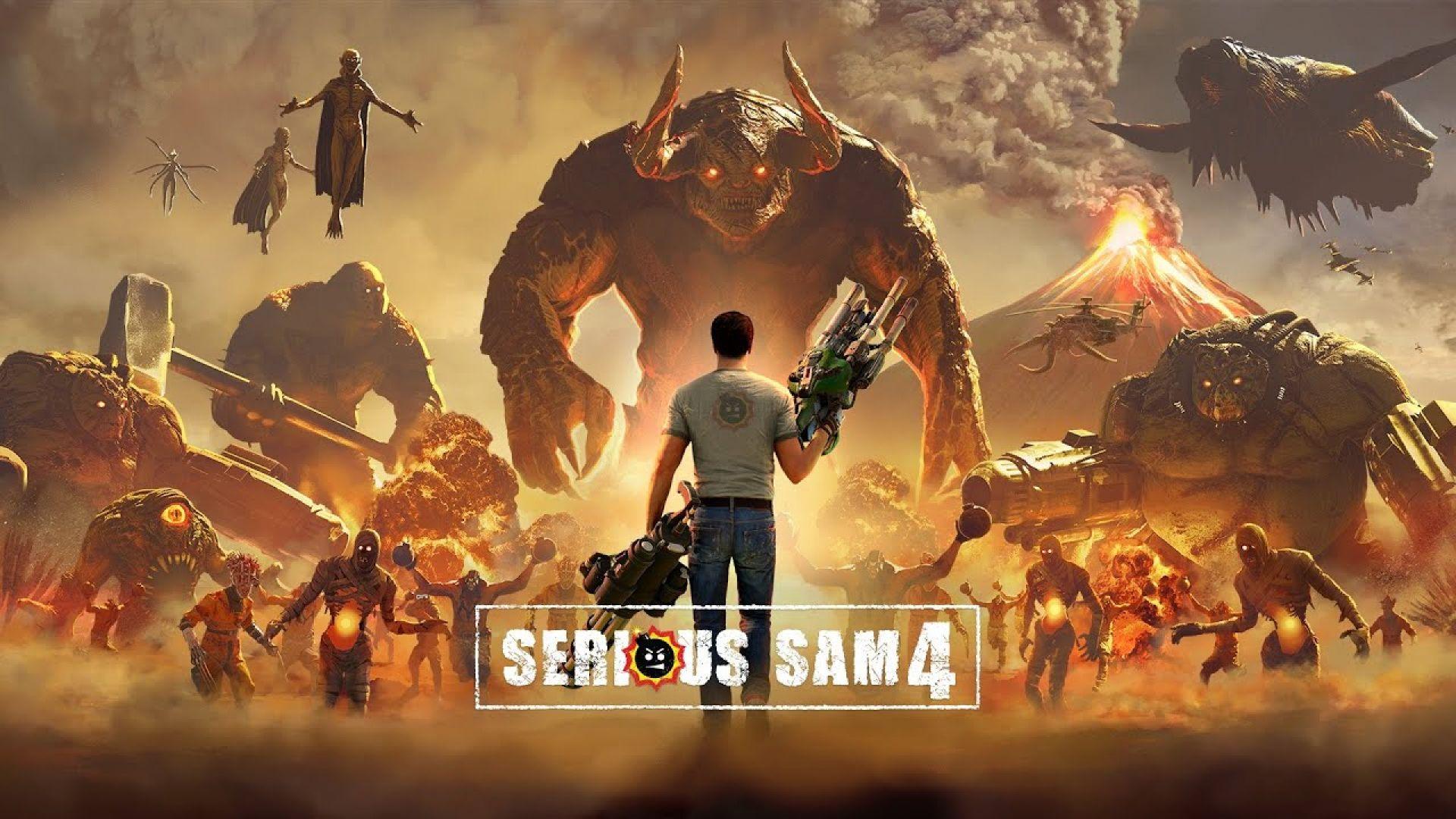 Станаха ясни системните изисквания на Serious Sam 4
