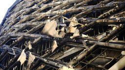 Нов пожар беше потушен в центъра на Бейрут (снимки)