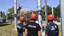 Пожарната откри нов полигон, ще обучават 100 000 души в него