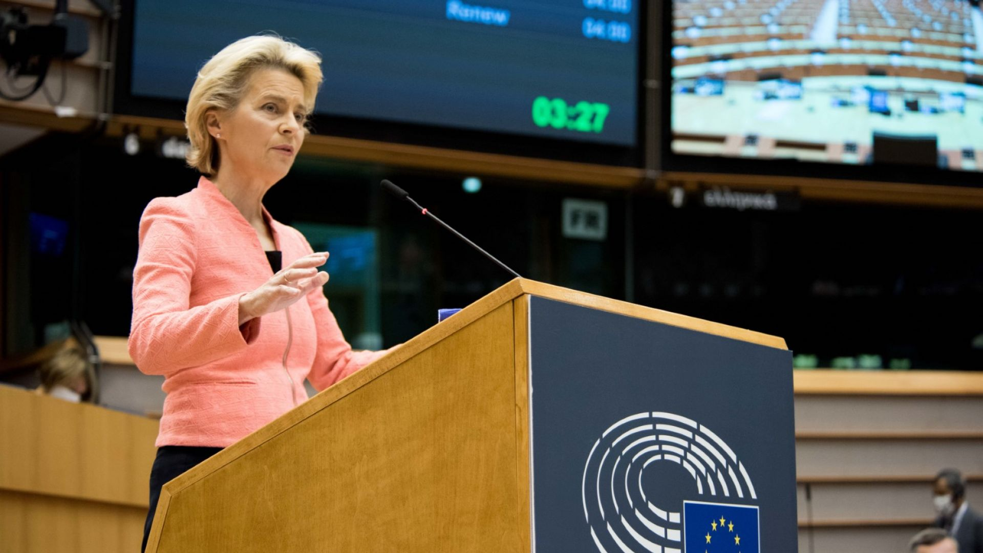 Фон дер Лайен: ЕК много силно защитава върховенството на закона