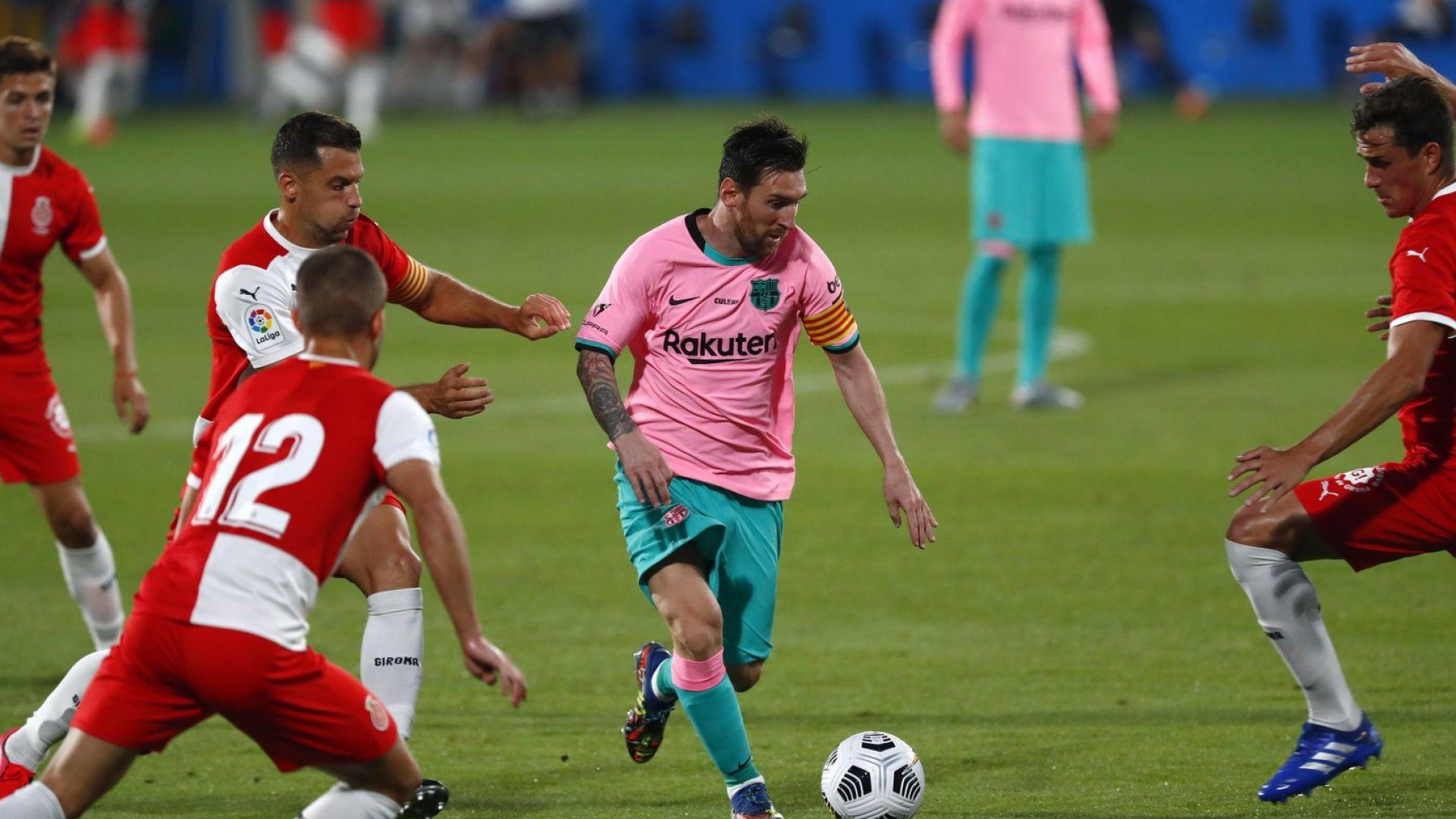 Меси показа, че няма да спира да бележи за Барселона (видео)