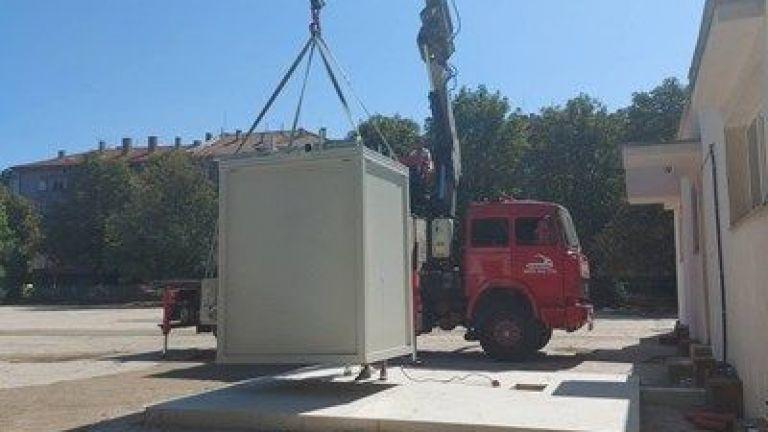 Започва монтажът на две стационарни станции за контрол на качеството
