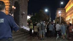 """71-а вечер на протести: Сливи и """"оставка"""" за Караянчева (видео)"""