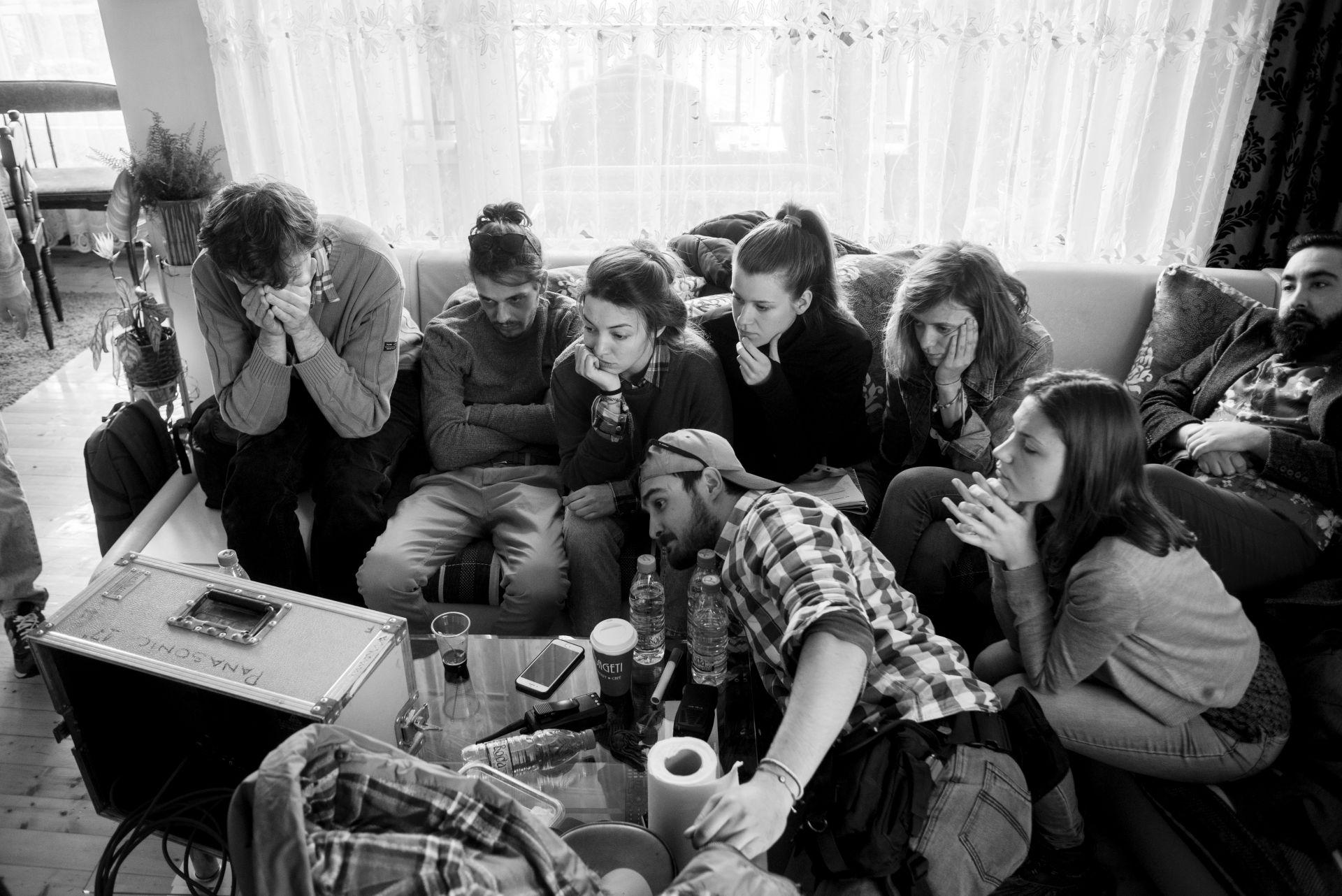 "Мейкинг на филма ""Заедно без теб"" , фотограф: Петър Недялков"