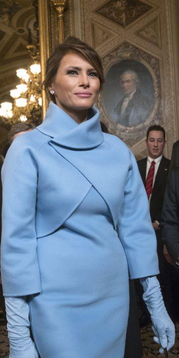Изборът на Първите дами през 2020: Вълна, мохер и кашмир или защо висшата класа ги обича в синьо