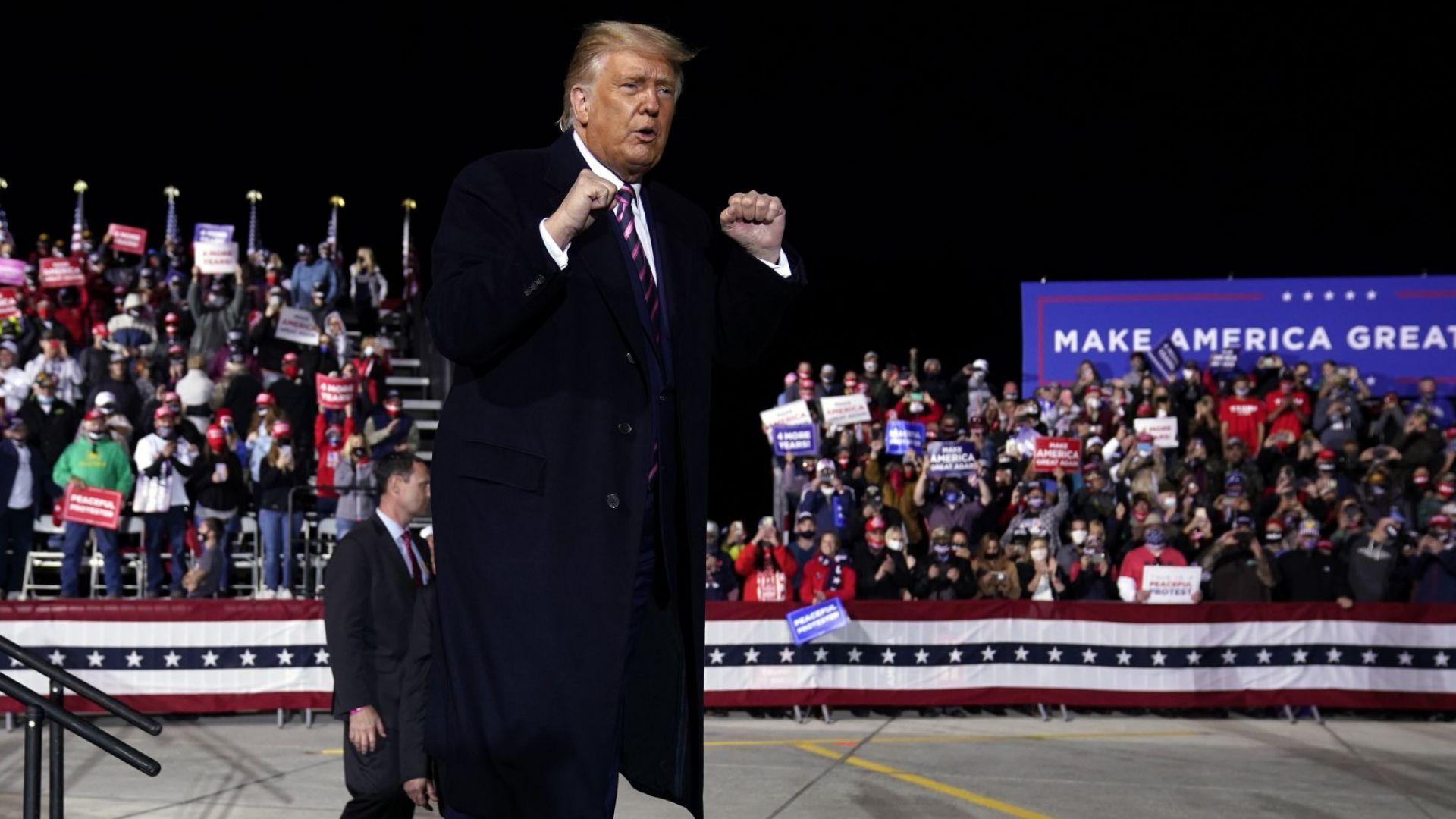 Тръмп: Аз съм стената, отделяща американската мечта от хаоса