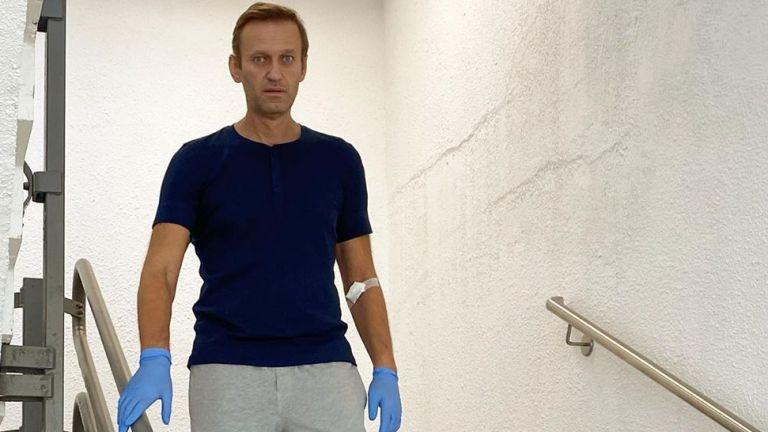 Руският опозиционер Алексей Навални публикува в