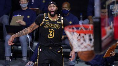 Шампионът Лейкърс победи един от лидерите в НБА, но плейофите още не са сигурни